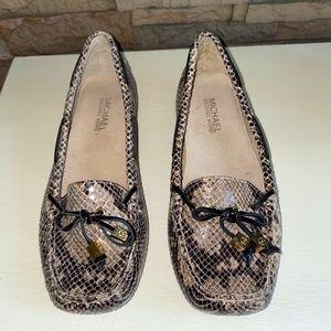 Women's Michael Kors Animal Print Loafers